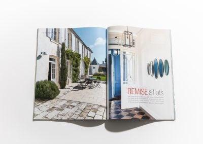 MAISON COTE OUEST - Article sur Fabienne Boé de Pirey, Architecte d'intérieur et Décoratrice à Paris