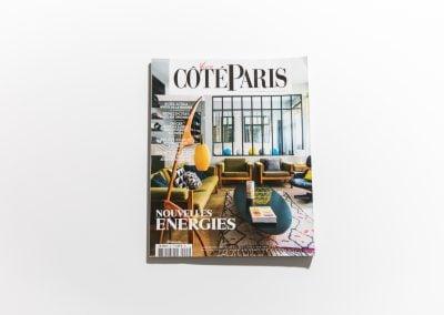 VIVRE COTE PARIS - Couverture sur Fabienne Boé de Pirey, Architecte d'intérieur et Décoratrice à Paris