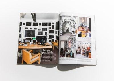 VIVRE COTE PARIS - Article sur Fabienne Boé de Pirey, Architecte d'intérieur et Décoratrice à Paris