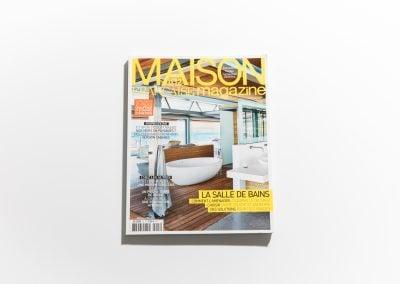 MAISON MAGAZINE - Couverture - Article sur Fabienne Boé de Pirey, Architecte d'intérieur et Décoratrice à Paris
