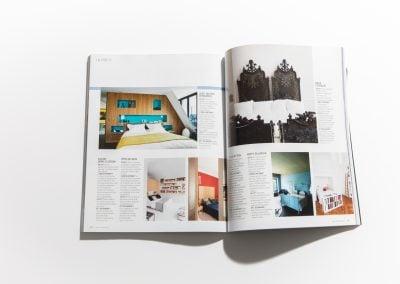 MAISON FRANCAISE MAGAZINE - Article sur Fabienne Boé de Pirey, Architecte d'intérieur et Décoratrice à Paris