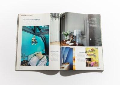 ART ET DECORATION Aout 2012 - Article sur Fabienne Boé de Pirey, Architecte d'intérieur et Décoratrice à Paris