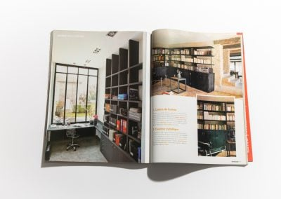 ART ET DECORATION Septembre 2011 - Article sur Fabienne Boé de Pirey, Architecte d'intérieur et Décoratrice à Paris