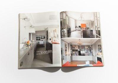 ART ET DECORATION Juin 2010 - Article sur Fabienne Boé de Pirey, Architecte d'intérieur et Décoratrice à Paris