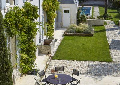 Un propriété sur l'île de Ré, par Fabienne Boé de Pirey, Architecte d'intérieur UFDI à Paris 75