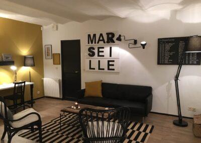 Décor de l'émission MISSION PLUS VALUE sur NRJ 12, par Fabienne Boé de Pirey, Architecte d'intérieur UFDI à Paris 75