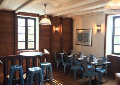 Restaurant l'INSOLITE à Saint-Martin de ré - Espaces de restauration, par Fabienne Boé de Pirey, Architecte d'intérieur UFDI à Paris 75
